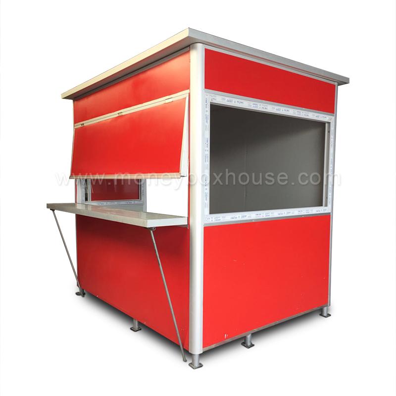 Best Mobile Food Kiosk Design Ticket Booth Newspaper Kiosk